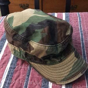 Women's small military camouflage hat